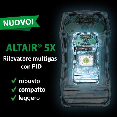Rilevatore multigas MSA ALTAIR® 5X 1