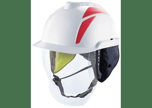 V-Gard® 950 Elmetti di sicurezza industriali non ventilati con schermo facciale integrato 1